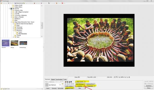 schärfen - (software, Programm, Foto)
