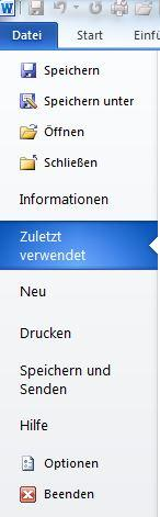 Bild 1 - (Windows 7, word)