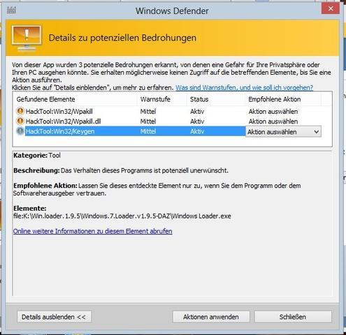 HackTool:Win32/Keygen - (Windows 7, Virus, Trojaner)