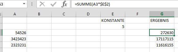 Excel - (Excel, Faktoren)