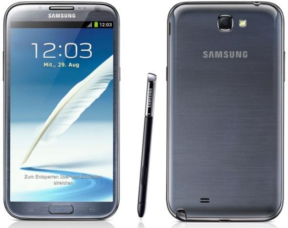 Samsung Galaxy Note II - (Handy, Smartphone, Telekommunikation)
