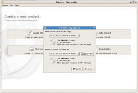 - (Linux, dvd, Backup)