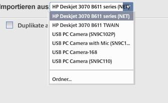 - (Drucker, kamera, Scanner)