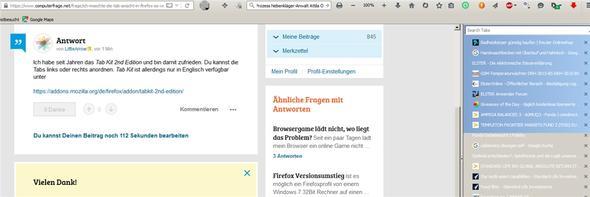 - (Firefox, Browser, Mac OS X)