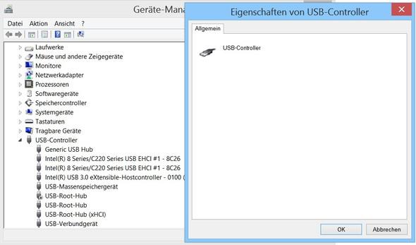 Bild 1 - (Treiber, Treibersuche, USB-Controller)