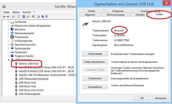 Bild 2 - (Treiber, Treibersuche, USB-Controller)