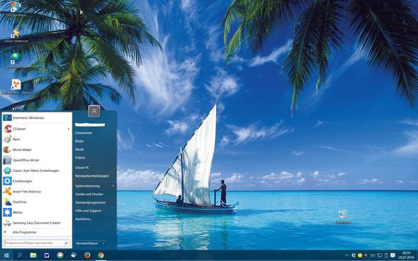 Windows 10 mit Classic Shell-Startmenü - (Windows 7, Betriebssystem, Installation)