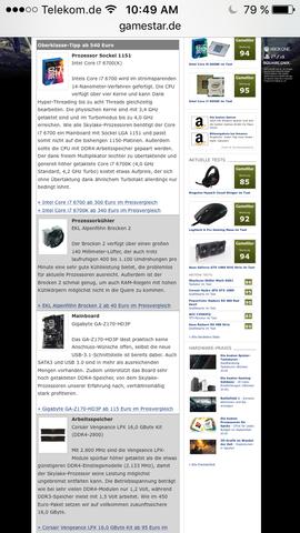 Gamestar setup - (CPU, Prozessor, Mainboard)