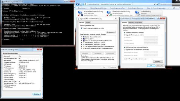 Netzwerkinformationen - (Internet, software, Download)