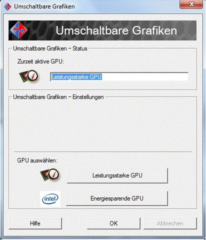 Acer Aspire Timeline X 4820TG, umschaltbare Grafiken. - (Laptop, Bios, reset)