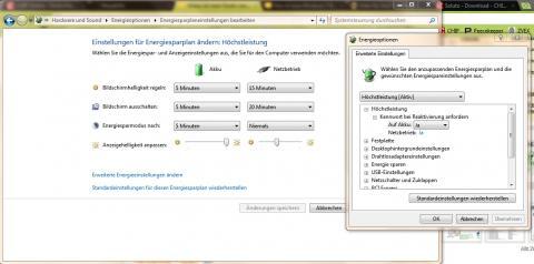 - (Windows 7, Anmeldung, Ruhezustand)