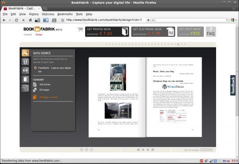 So sieht das Blogbuch dann aus - (wordpress, Drucken, Blog)