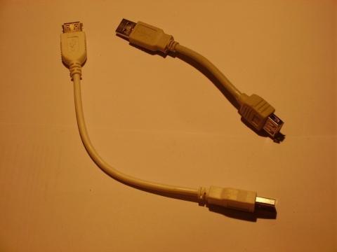 Kurze USB-Verlängerung - (Notebook, USB-stick, Anschlüsse)