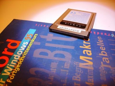 PCMCIA-Netzwerkkarte - (Internet, Hardware, Netzwerk)