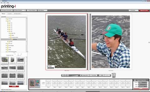 Printing-1 Benutzeroberfläche - (software, Bilder, Fotobuch)