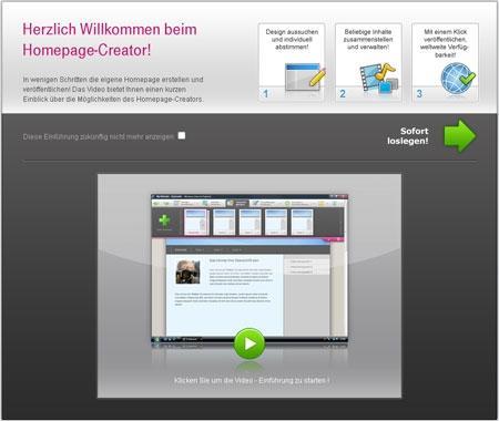 - (Internet, Homepage, Telekom)