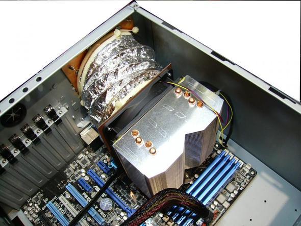 Komplette Konstruktion - (Computer, CPU, Lüfter)