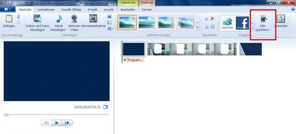 Bild 2 - (Windows XP, Videobearbeitung, Windows Movie Maker)