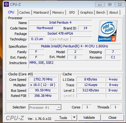 CPU Z - (Prozessor, intel pentium 4, cpu wechseln)