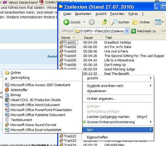 zip - (7Zip, Zip Ordner)
