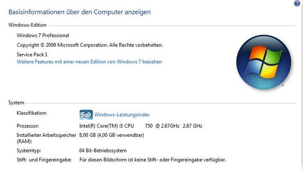 Unter Windows - (Hardware, Mainboard, Arbeitsspeicher)