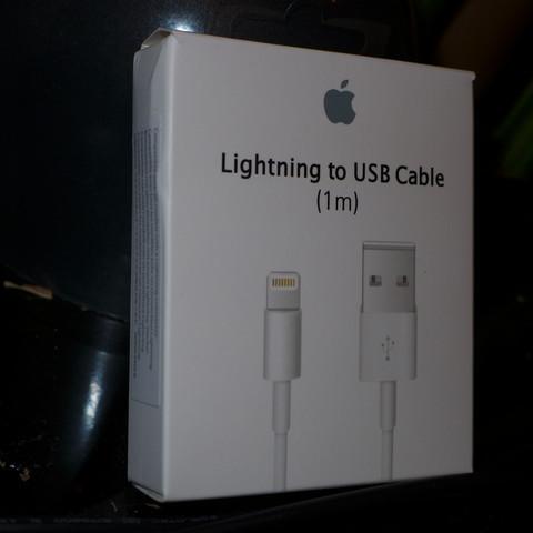 Verpackung vom Original - (Apple, Datenkabel)