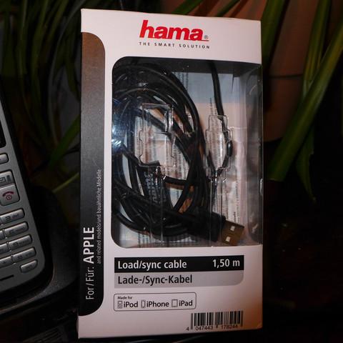 Verpackung von Hama - (Apple, Datenkabel)