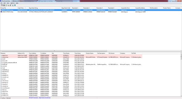 bluescreen report - (Fehlermeldung, Arbeitsspeicher, Bluescreen)