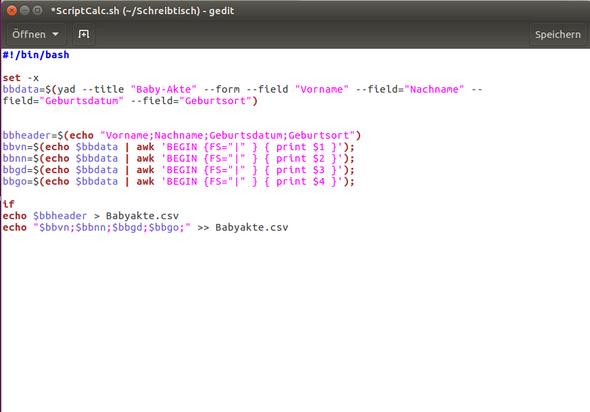 - (Computer, Linux Ubuntu, Scripting)