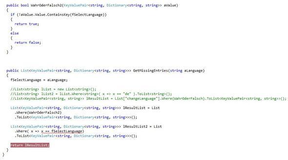 LinQ-Quellcode - (Programmieren, Programmiersprache, CSharp)