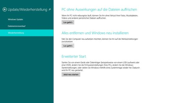 Alles entfernen und Windows neu Installieren - (Löschen, Windows 8, laufwerk)