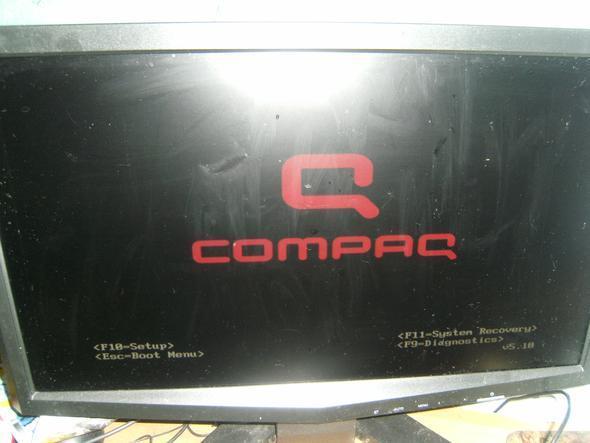 COMPUTER STARTET NICHT!!!! NUR STARTLOGO