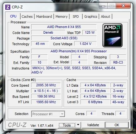 CPU-Z - (Computer, PC, Windows 7)