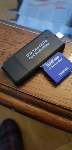 Datensicherung mittels USB Stick vom Handy?