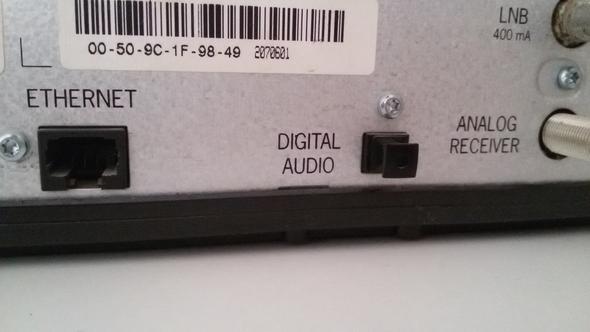 Digital Audio und Optischer eingang