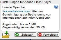 Das Problem. - (Internet, Adobe Flash)