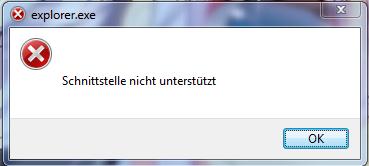 Explorer Fehler - (Windows 7, Treiber, Fehler)
