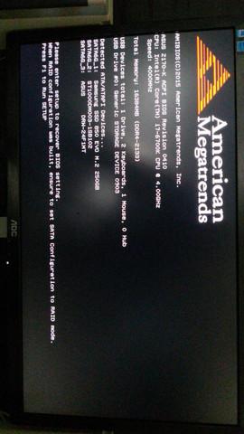 Fehlermeldung - (Computer, Probleme, Bios)