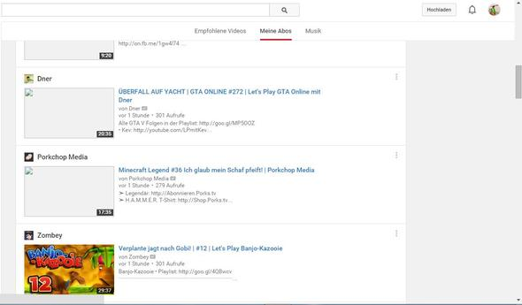 Google Chrome Zeigt Youtube Thumbnail nicht an