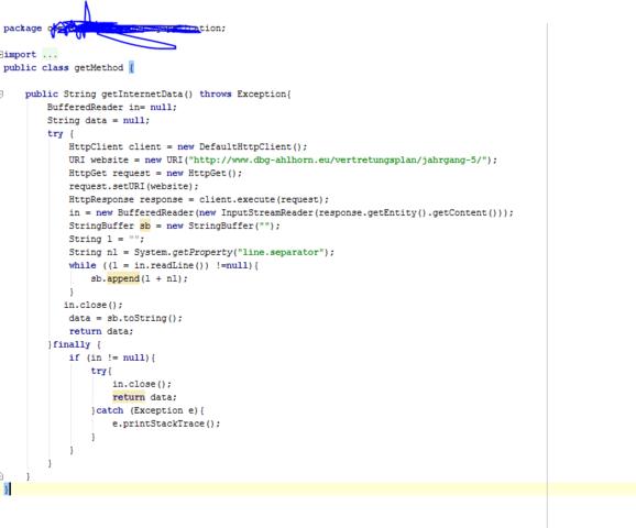 Java Code - (Android, Programmieren, Java)