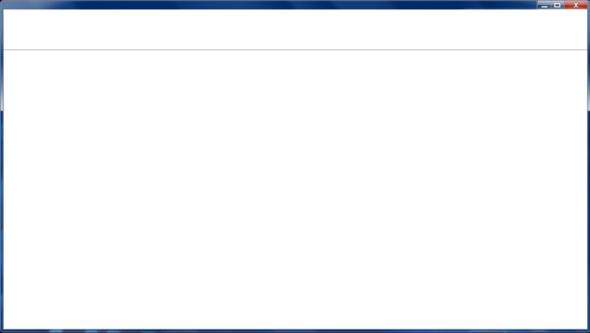 Internet Explorer 10: Nur weißes Fenster?