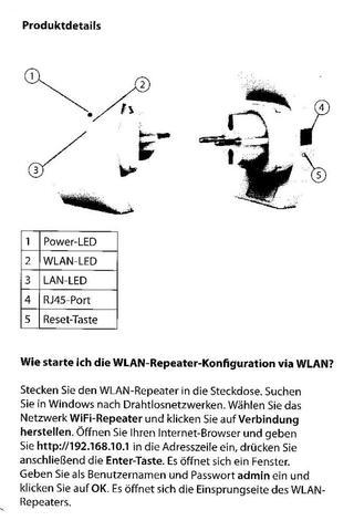 Wlan- Repeater Konfiguration - (Internetverbindung, WLAN-Repeater)