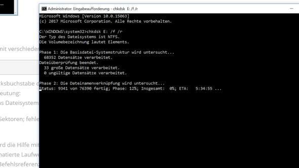 Kein Zugriff auf externe Festplatte, falscher Parameter?