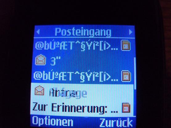 Handy-Nachricht - (Handy, Telekommunikation, T-Mobile)