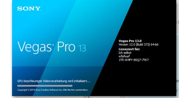 DAS PROBLEM - (software, Sony Vegas)