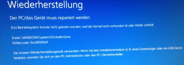Bild zum problem - (Festplatte, Fehler, Windows 10)