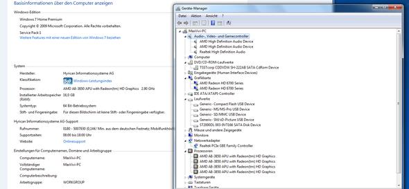 Daten - (Hardware, Grafikkarte, Prozessor)