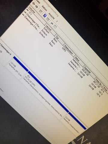 PC erkennt SSD M2 nicht?