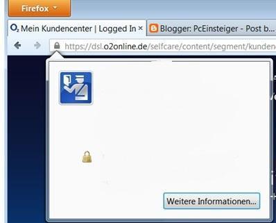Meldungen weiß - (Firefox, Browser, Probleme)