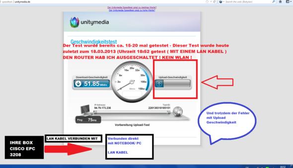 Uniteymedia Speedtest - (Internet, dsl, Geschwindigkeit)